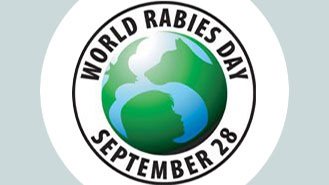 Image of World Rabies Day 9/28 logo