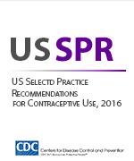United States Selected Practice Recommendations for Contraceptive Use