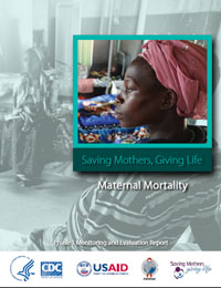 The Maternal Mortality report details how maternal mortality rates in the 8 pilot districts in Uganda and Zambia declined by one-third in one year. It also examines the declines in direct and indirect obstetric causes of maternal death and how data on cause-specific mortality could inform program actions. For Uganda, the report also discusses the timing of death relative to the birth, where maternal deaths occurred (at home vs. in a health facility), and the delays in seeking, accessing, and receiving care that may have contributed to maternal deaths. The report also discusses how the data on these declines were collected and analyzed.