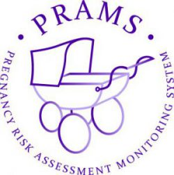 PRAMS logo: Pregnancy Risk Assessment Monitoring