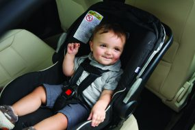 A toddler in a car seat: CDC's National Center for Injury Prevention and Control