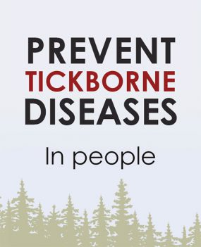 Prevent Tickborne Disease in people poster