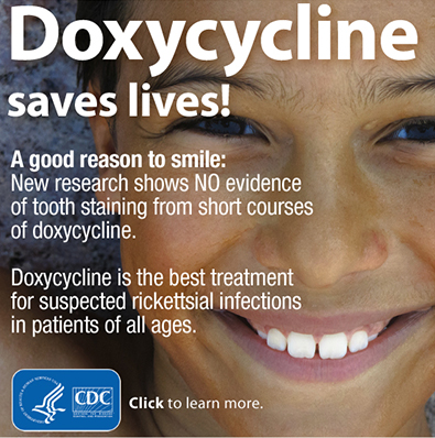 Doxycycline saves lives button.