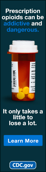 Prescription opioids can be addictive and dangerous. It only takes a little to lose a lot. Learn more. cdc.gov
