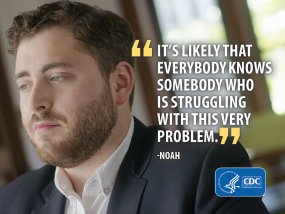 It's likely that everybody knows somebody who is struggling with this very problem. - Noah