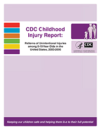 Childhood Injury Report cover