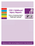 CDC Childhood Injury Report cover