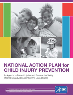 Cover of the National Action Plan for Child Injury Prevention publication
