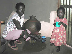 Household use of the Safe Water System