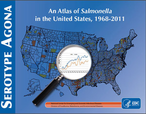 Salmonella Agona report, from An Atlas of Salmonella cover page