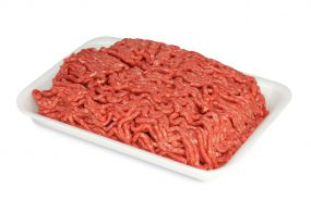 Photo of ground beef.
