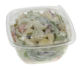 Photo of Hy-Vee Spril Pasta Salad without label.
