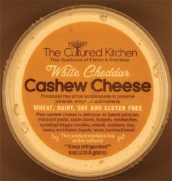 image of recalled raw cashew cheese