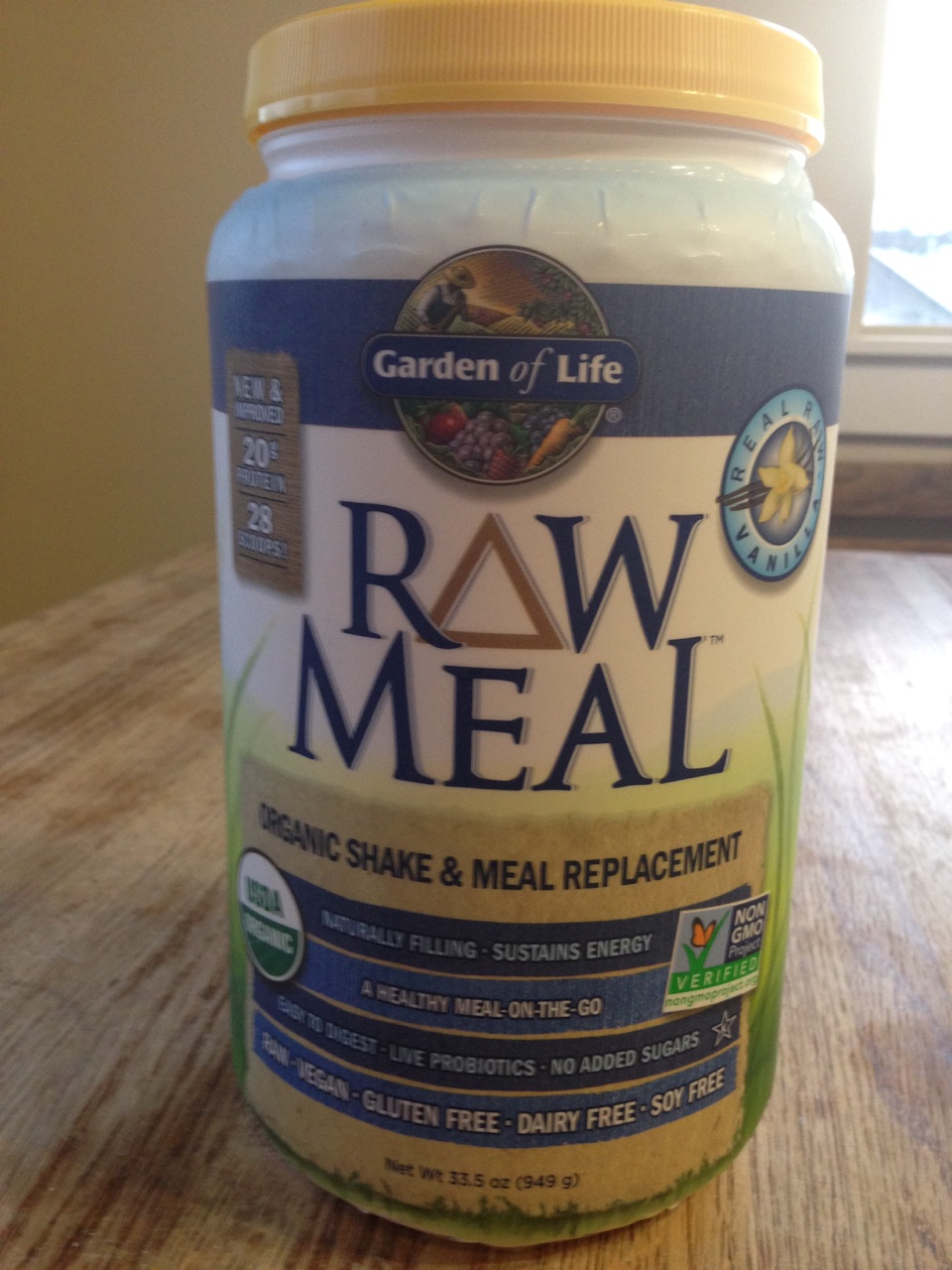 Garden of Life RAW Meal Organic Shake & Meal Product
