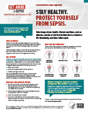 Stay Healthy. Prevent Infections and Sepsis. Fact Sheet