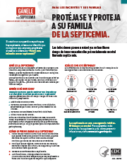 Sepsis Consumer Protect Your Family Fact Sheet_Spanish