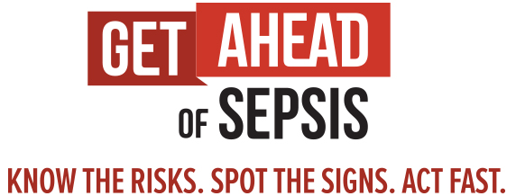 Get Ahead of Sepsis Logo