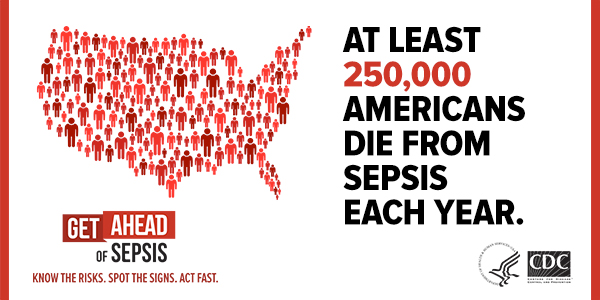 Sepsis is a medical emergency. Time matters.
