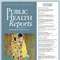 Cover of Public Health Reports journal 'Understanding Sexual Health'