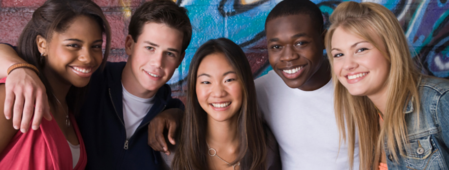 Photo of students