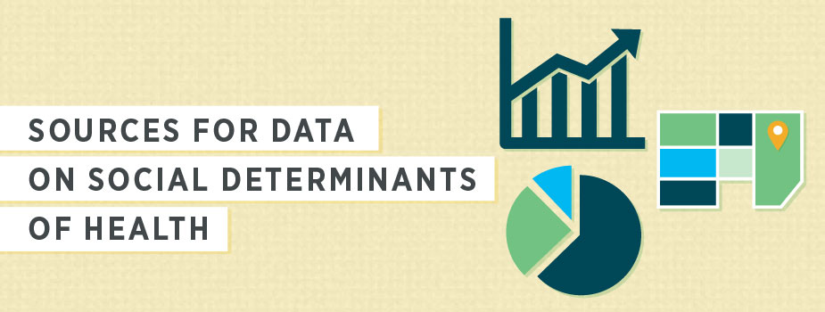 Sources for Data on Social Determinants of Health Banner