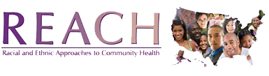 Reach and Ethnic Approaches to Community Health Icon