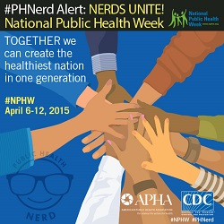 Share CDC's NPHW graphics on your social networks during National Public Health Week