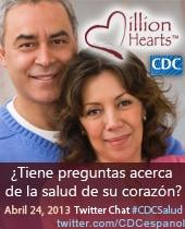 Afiche del chat en Twitter en Español