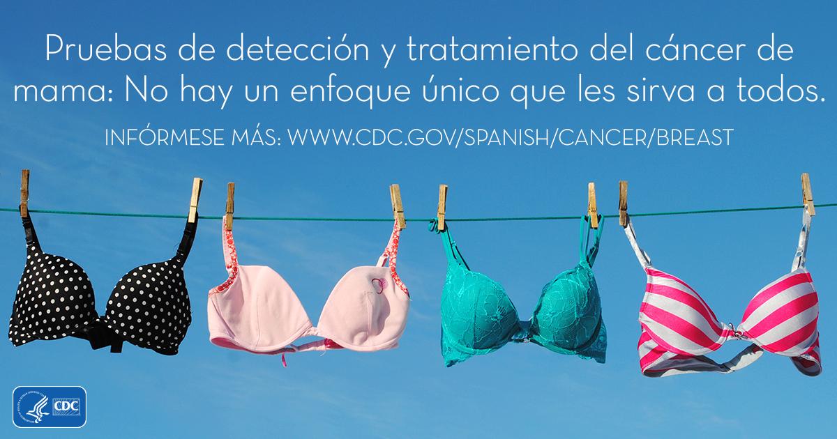 Pruebas de detección y tratamiento del cáncer de mama: No hay un enfoque único que les sirva a todos.