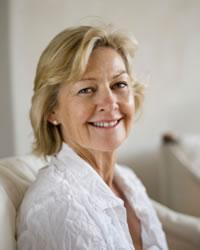 Foto de una mujer de mediana edad