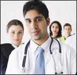 Profesionales de atención médica