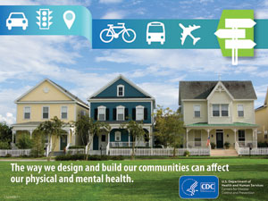 Foto: The way we design and build our communities can affect our physical and mental health.