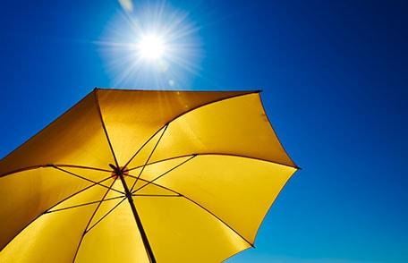 Seguridad ante el sol del verano