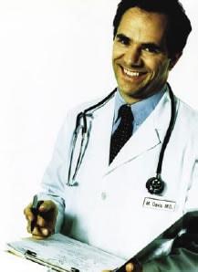 Fotografía de un médico