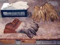 Fotografía de una colección de guantes