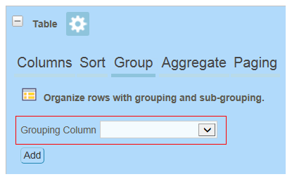 Grouping in Custom Reports