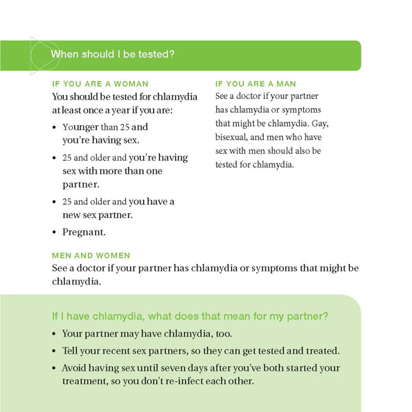 Page 7 Chlamydia The Facts Brochure, See transcript