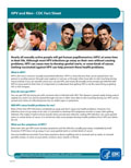 HPV and Men Fact Sheet Print Version