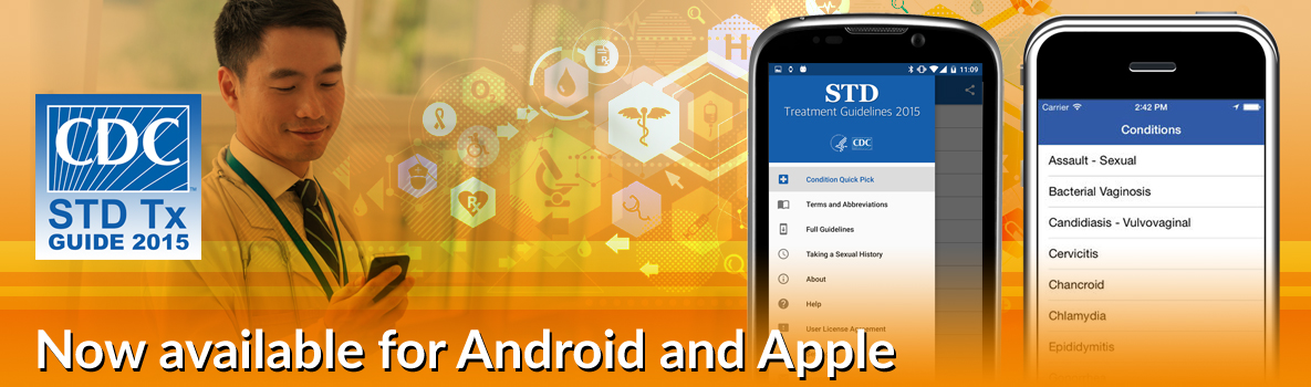 STD Tx Guide 2015 - Now available for Android and Apple
