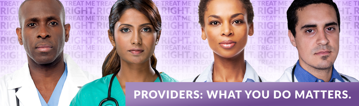 Providers: What you do matters.