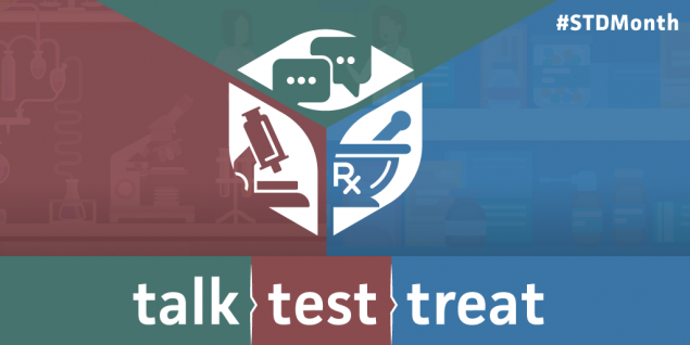 Talk. Test. Treat.
