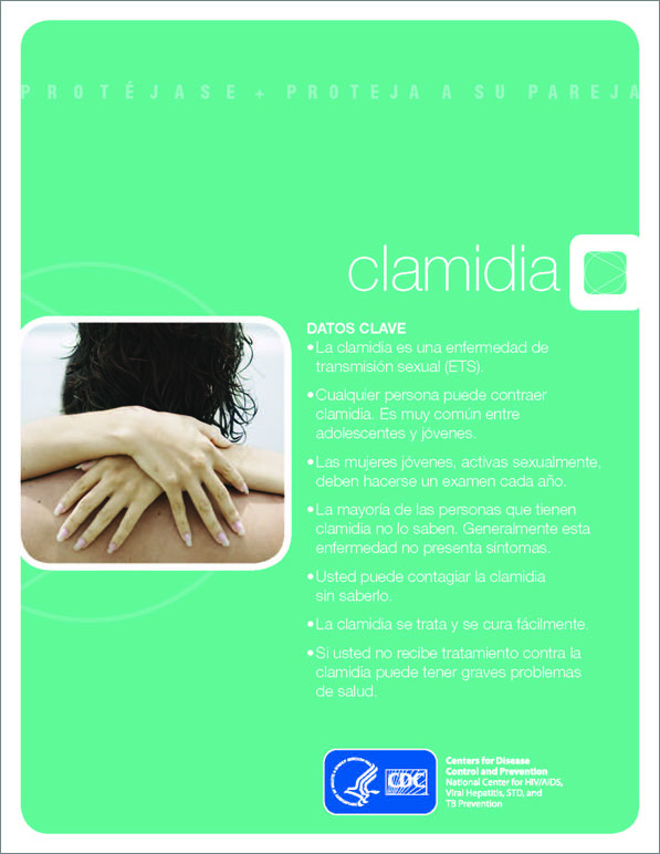 Clamidia: la realidad - Folleto cover