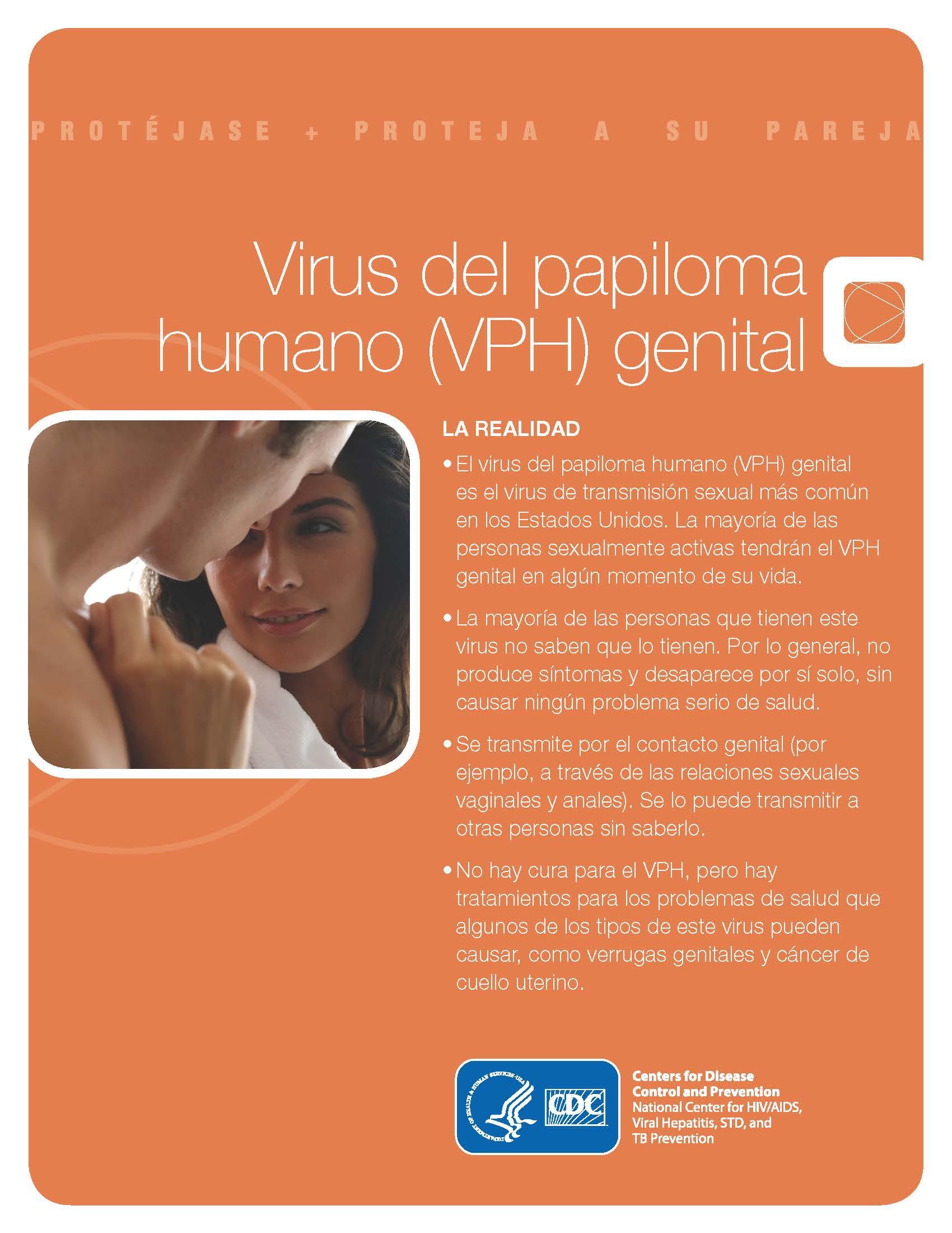 Virus Del Papiloma Humano La Realidad Folleto