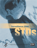 image of cover of STD Surveillance, 2008