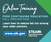 Online continuing education: fall prevention