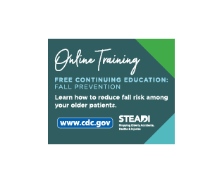 CDC STEADI Provider Training Badge