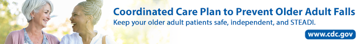 Coordinated Care Plan to Prevent Older Adult Falls.  Keep your older adult patients safe, independent, and STEDI