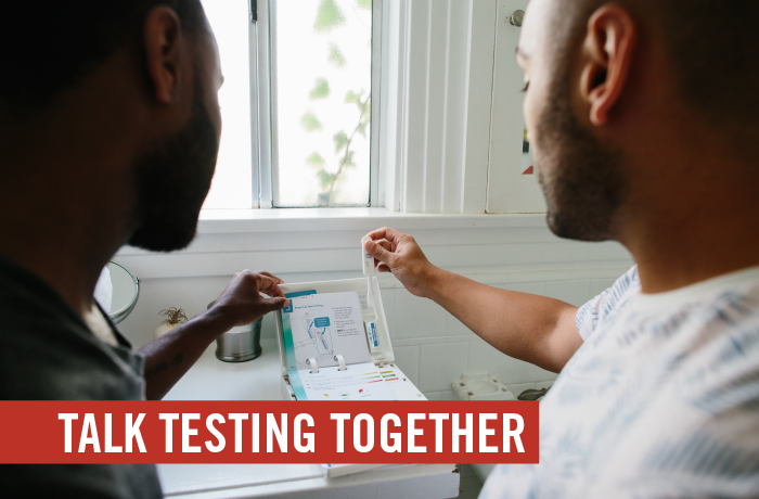 Talk Testing Together