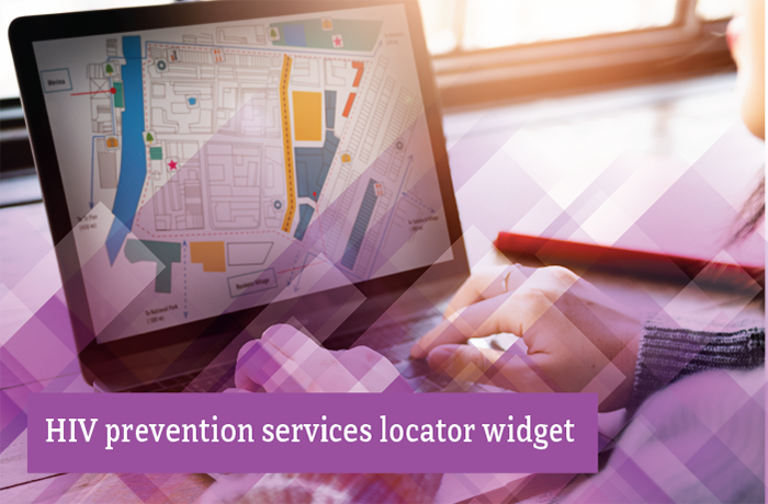 HIV Prevention Services Locator Widget