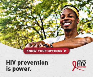 HIV prevention is power. Let's Stop HIV Together.